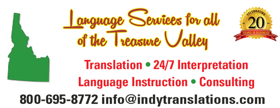 Boise Idaho language services